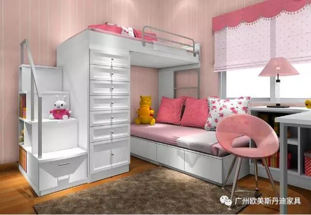 专为小户型设计的床, 轻松让家多出一间房!