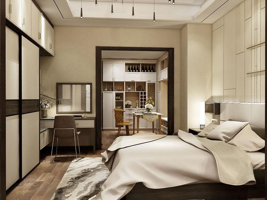 卧室床-WS009