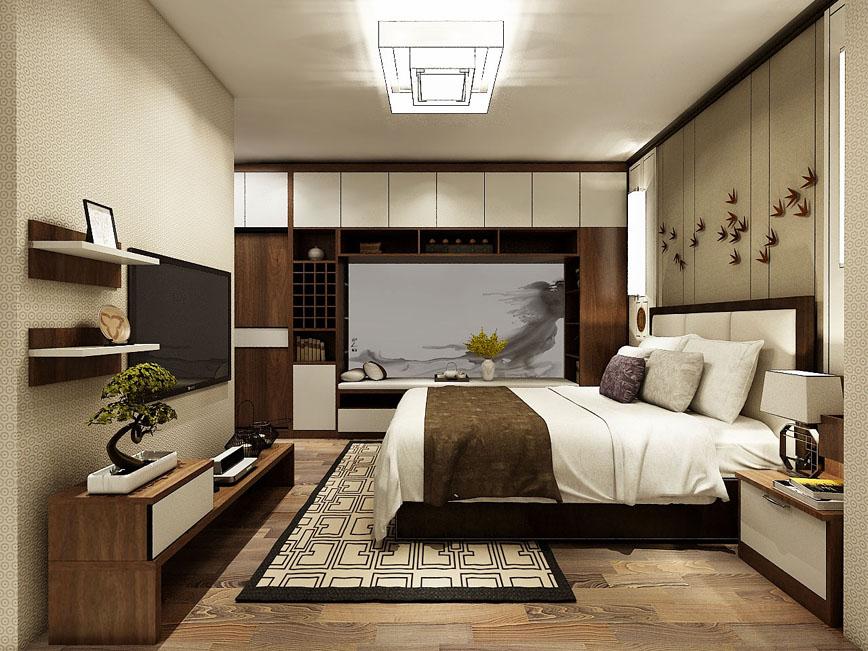 卧室床-WS007