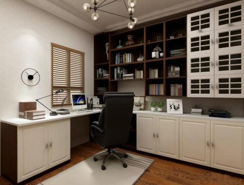 在家办公效率低?或许你缺少这么个书房!